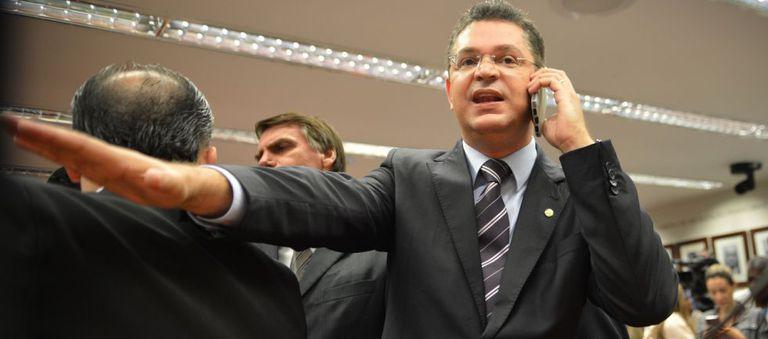 O deputado Sóstenes Cavalcante (DEM-RJ), tesoureiro da Frente Evangélica.