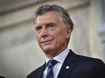 O ex-presidente argentino Mauricio Macri em uma imagem de arquivo.