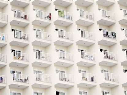 Bloco de apartamentos em Palma de Mallorca.