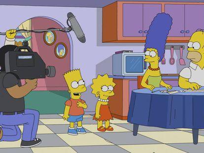 Teaser da temporada 30 de 'Os Simpson'.