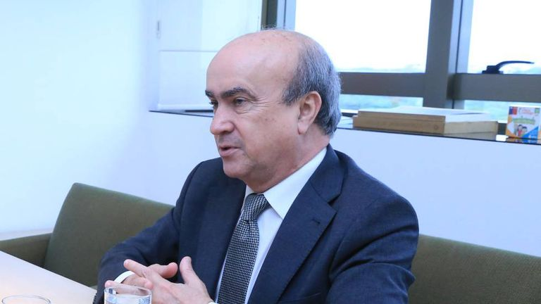 O secretário-geral da OEI, Mariano Jabonero.