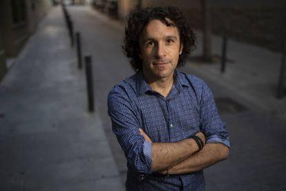 O escritor Marco Balzano, em Barcelona.