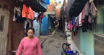 Favela do Nove, que deve ser removida pelo projeto da Votorantim.