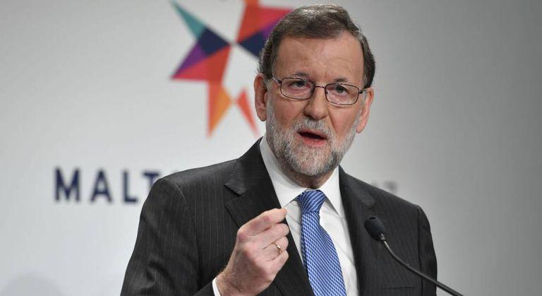 Mariano Rajoy, na passada sexta-feira em Malta.