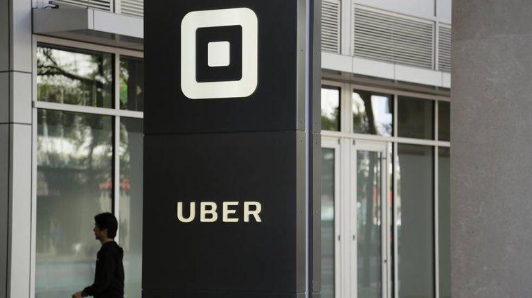 Sede do Uber em San Francisco, Califórnia.
