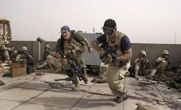 Soldados da Blackwater, em 2007.