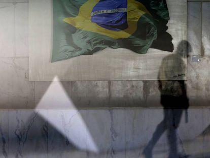Uma das entradas do Palácio do Planalto, em Brasília.