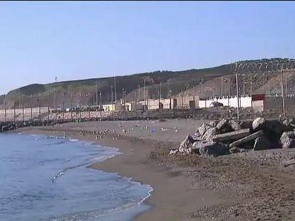 Uma dezena de imigrantes morre enquanto tentava nadar até Ceuta