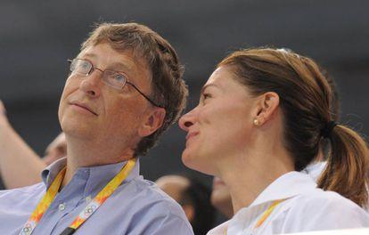 Bill e Melinda Gates em uma imagem de arquivo.