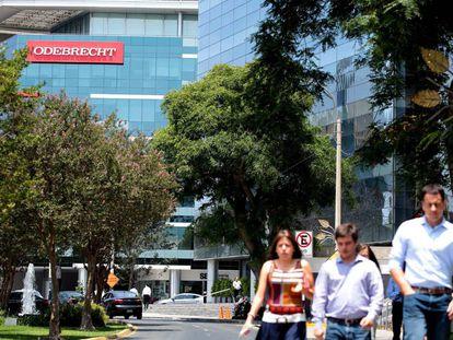 As instalações de Odebrecht em Lima, Peru.
