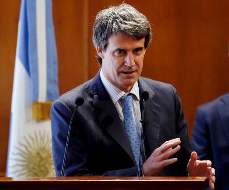 O ministro de Fazenda da Argentina, Alfonso Prat-Gay, na sexta-feira passada.