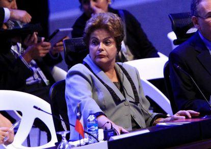 Dilma Rousseff na cúpula da CELAC.