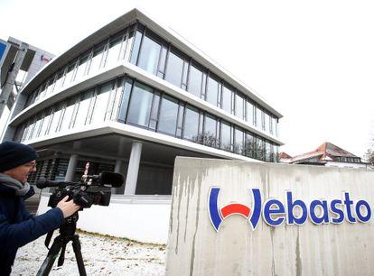 Sede da empresa Webasto em Stockdorf, perto de Munique, onde foi detectado um foco de coronavírus em janeiro.