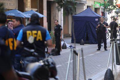 Um advogado armado que reagiu a um assalto matou um homem que andava na rua no centro de Buenos Aires, em abril passado.