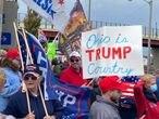 Seguidores de Trump en Alliance (Ohio).