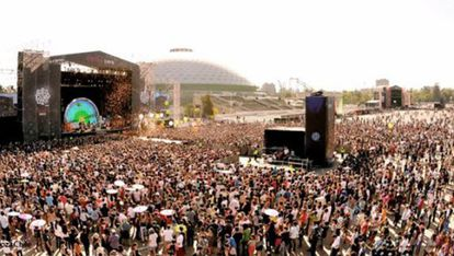 O Festival Lollapalooza acontece no final de março no Parque O'Higgins, em Santiago, no Chile