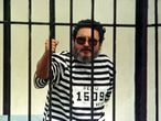 FILE PHOTO: Shining Path guerrrilla leader Abimael Guzman, seen in a jail after his capture in Peru, on September 24, 1992. REUTERS/Anibal Solimano/File Photo