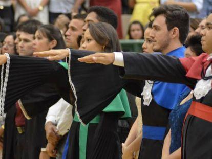 Formatura na Universidade Regional do Cariri (Urca).