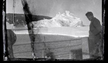 Uma das fotos do legado de Shackleton.