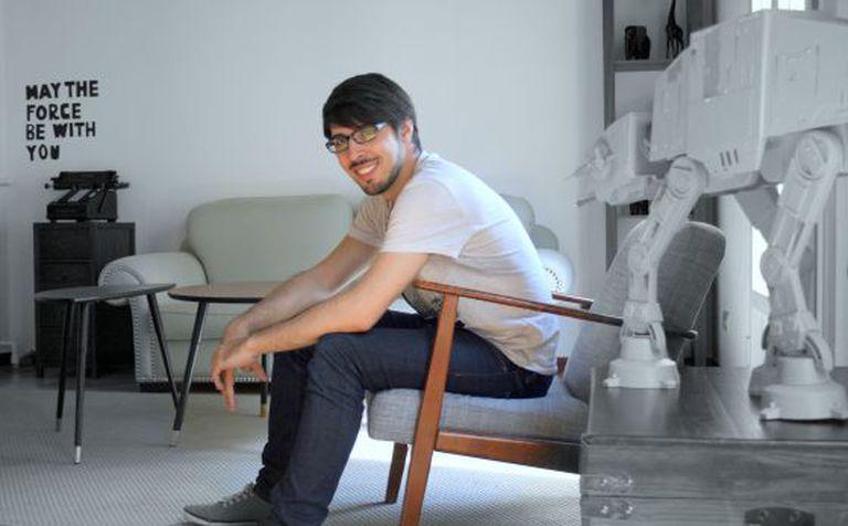 Pablo López na sede de sua empresa Seedtag em Madri.