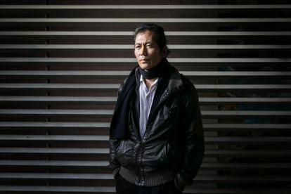 O pensador sul-coreano Byung-Chul Han, fotografado em Barcelona em fevereiro de 2018.