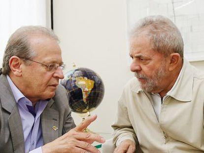 Tarso Genro e Lula, em novembro.