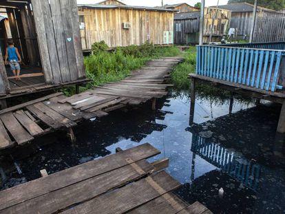 O bairro Jardim Independente 1, na cidade de Altamira, sofreu o impacto da especulação imobiliária causado pela construção de Belo Monte.