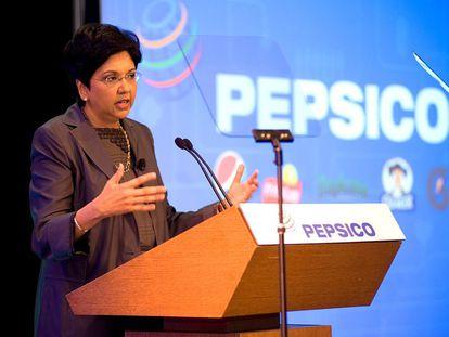 A CEO da Pepsi, Indra K. Nooyi.