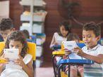 Niños y niñas se belefian del programa de ProFuturo en Brasil ISMAEL MARTÍNEZ SÁNCHEZ   (Foto de ARCHIVO) 20/08/2019