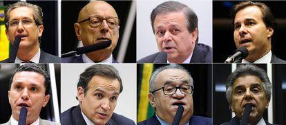 Candidatos a presidente da Câmara.