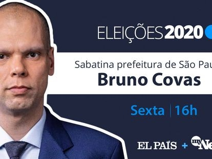 """Bruno Covas: """"Não podemos deixar a campanha virar um leilão de programas de transferência de renda"""""""