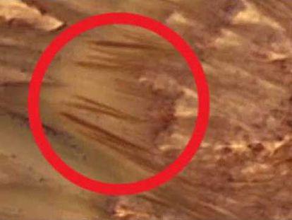 Onde está a água em Marte?