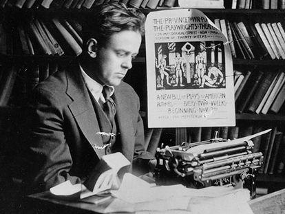 John Reed, em foto de 1920, ano de sua morte