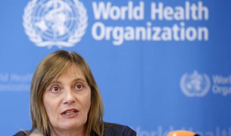 A vice-diretora da Organização Mundial da Saúde (OMS), Marie-Paule Kieny, explica as conclusões do Comitê de Ética.