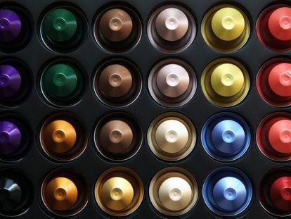 Capsulas de café da Nespresso.
