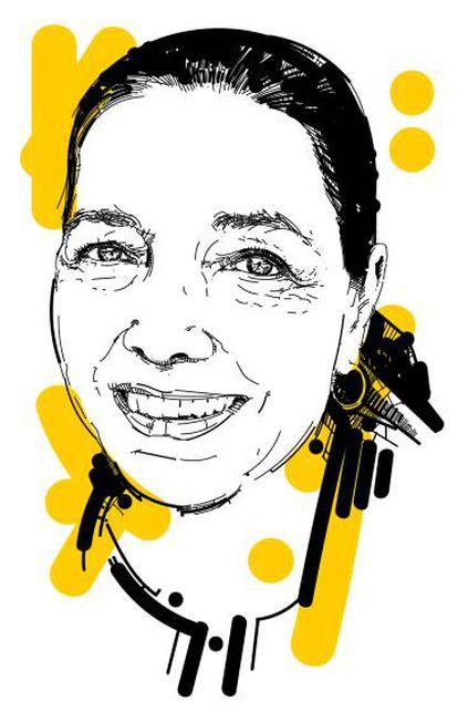 A escritora Marina Colasanti