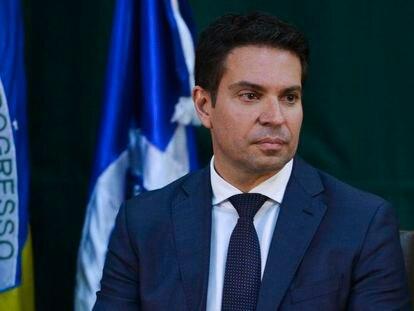 Alexandre Ramagem, em solenidade de posse na diretoria-geral da Agência Brasileira de Inteligência (Abin).