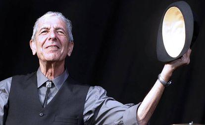 Leonard Cohen no Festival de Beincassim, em 2008.