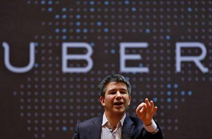 Travis Kalanick, presidente executivo do Uber