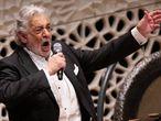 El tenor Plácido Domingo, el pasado mes de noviembre en Hamburgo.