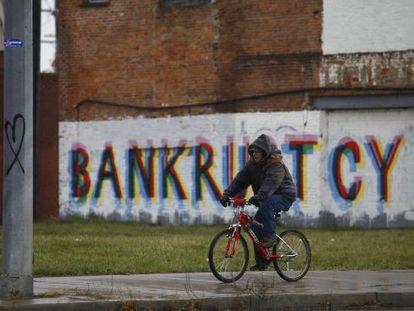 Detroit e a bancarrota.