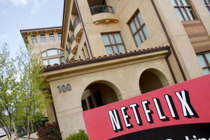 Sede da Netflix em Los Gatos (Califórnia).