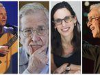 Sting, Noam Chomsky, Lilia Schwarcz e Caetano Veloso, nomes que assinam manifesto contra o Governo Bolsonaro.