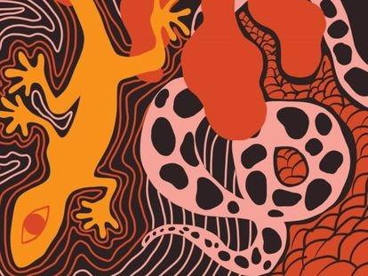 Detalhe da capa de 'Eisejuaz', de Sara Gallardo, lançado pela editora Relicário.