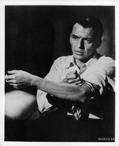Frank Sinatra em 'O Homem do Braço de Ouro'