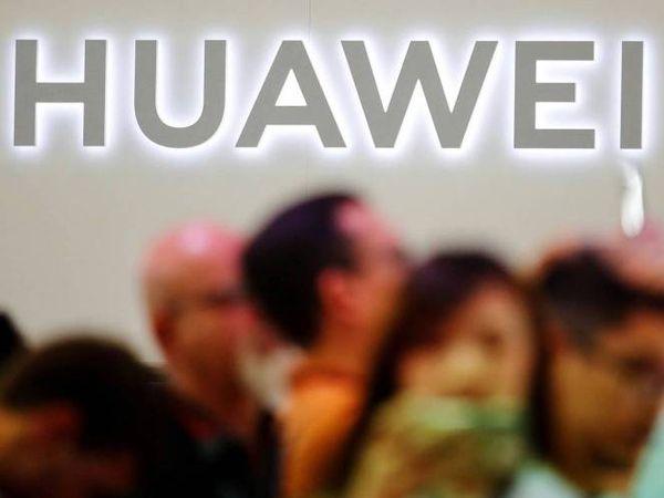 Logo de Huawei en la feria de tecnología IFA de Berlín.