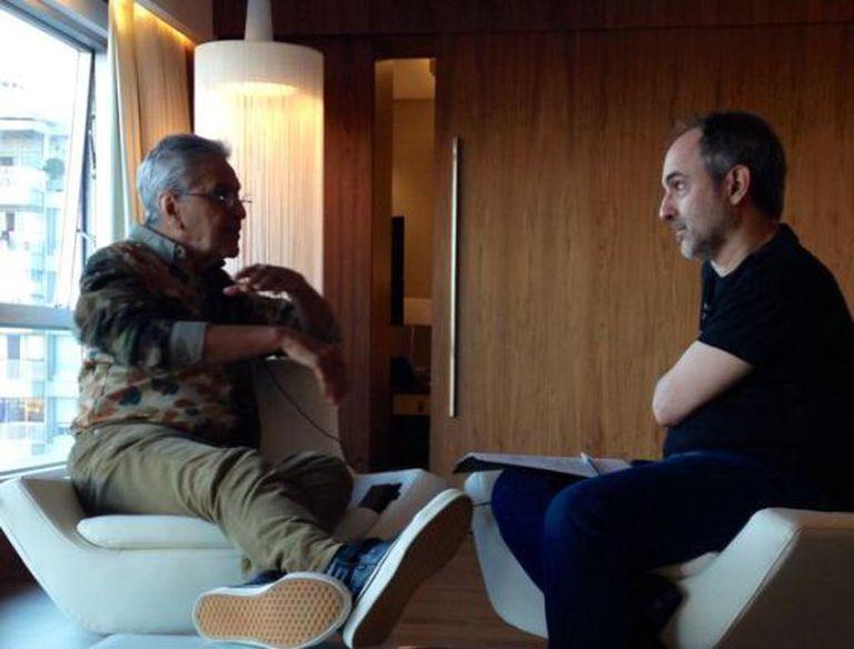 Galilea entrevista Caetano, em Lisboa.