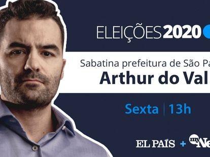 """Arthur do Val: """"Tudo em São Paulo está centralizado, enquanto as pessoas estão na periferia"""""""