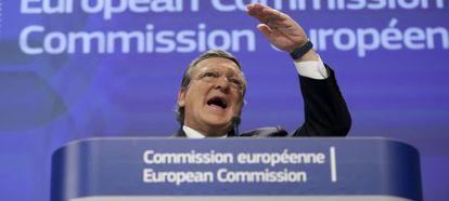 José Manuel Barroso na quarta-feira, em Bruxelas.