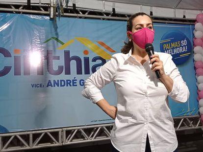 Cinthia Ribeiro (PSDB), reeleita prefeita ainda no 1º turno em Palmas.